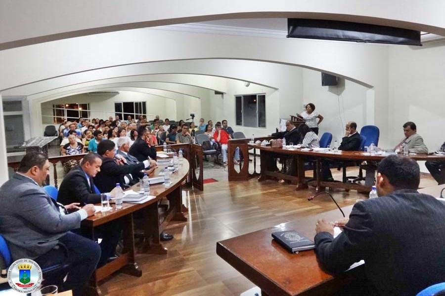 19ª Sessão Ordinária realizada nessa quinta 23 de Março