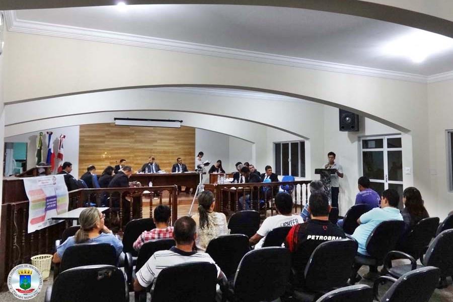 21ª Sessão Ordinária realizada nessa quinta 30 às 19h