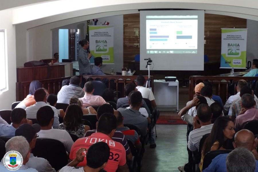 Apresentação de Ações, Projetos e Programas da SDR para os Municípios e Territórios
