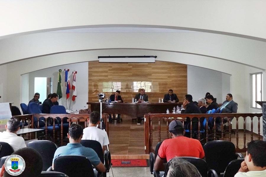 22ª Sessão Ordinária realizada nesta terça 04 de abril