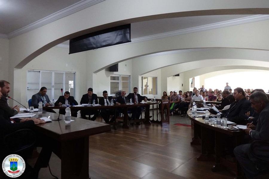 25ª Sessão Ordinária desta terça 18 de abril