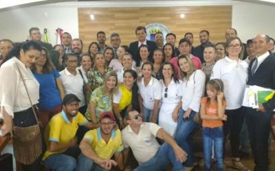 Agentes de Saúde comemoram Projeto aprovado na Câmara Municipal