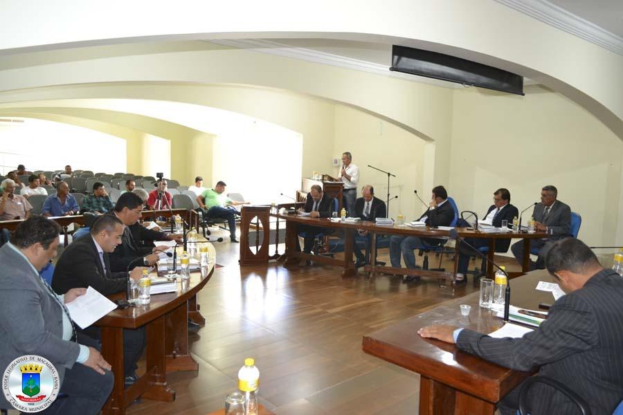 29ª Sessão: Projeto apresentado! Secretário de Meio Ambiente fala na Tribuna