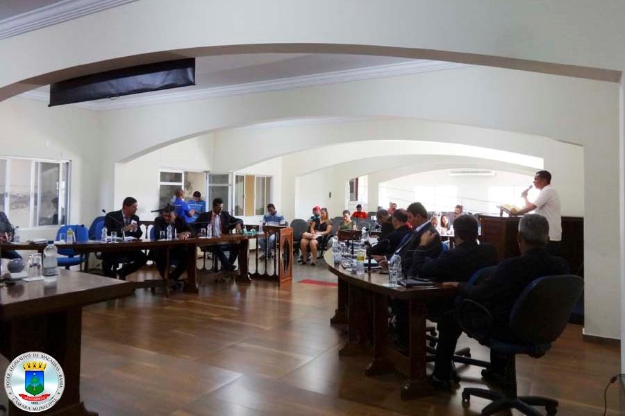37ª Sessão: Cidadão usa a Tribuna para falar do Projeto Riqueza do Campo