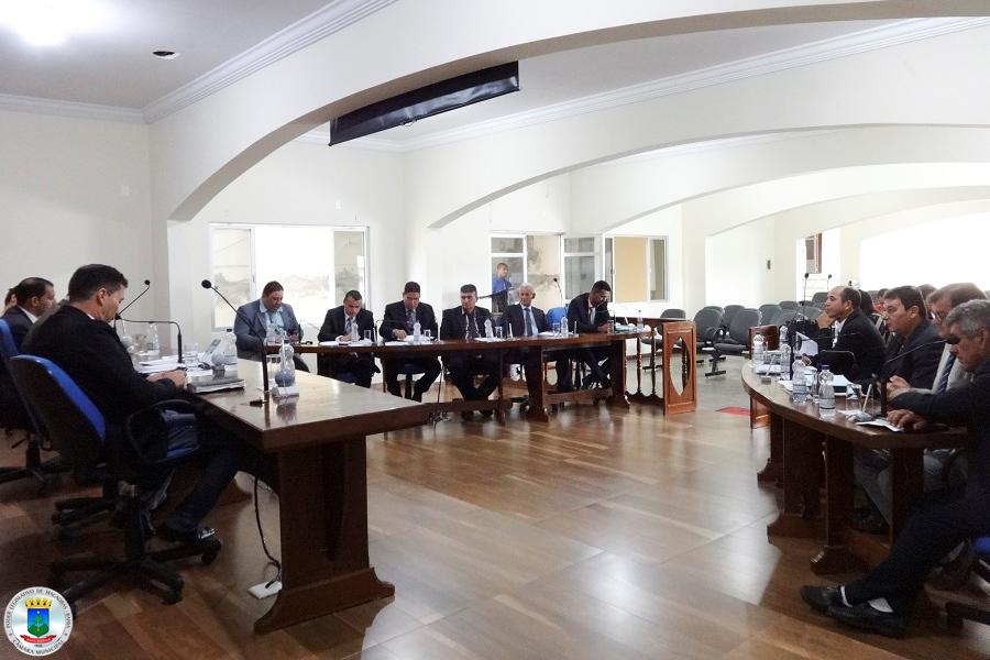 40ª Sessão: Votação do Projeto que Estima Receita e Fixa a despesa do município para 2018